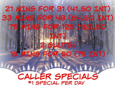 cheap phone sex specials