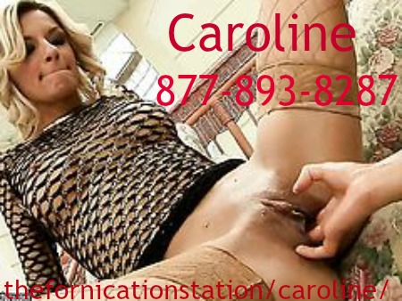cum slut phone sex with caroline